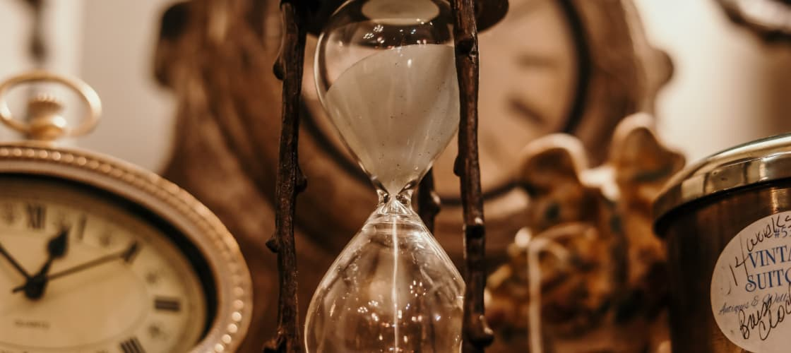 Sand clock picture
